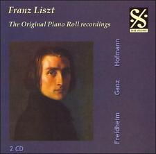 Liszt: The Original Piano Roll Recordings, New Music
