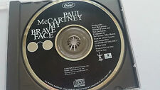 "Paul McCartney ""MY BRAVE FACE"" USA 1TRK PROMO CD 1989 Beatles"