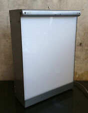 Vintage Industrial Metal S&S X-ray Viewer Light Box Wall Mountable Tabletop #2