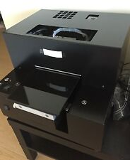 UV-Led flatbed printer powered by EPSON head, A4 printing size
