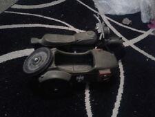 VINTAGE Cherilea Toys ACTION MAN ww2 MOTO/MOTO + Sidecar 1970s