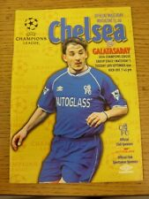 28/09/1999 Chelsea v Galatasaray [European Cup] . Good condition unless previous