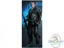 """12"""" Terminator 2 T2 Movie Masterpiece T-800 DX Battle-Damaged Version Hot Toys"""