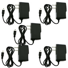 Fosmon 5x Premium Mini USB AC Universal Home Wall Travel Charger for Cell Phones