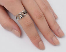Silver Dragonfly Band Rings Sterling Silver 925 Best Deal Jewelry Gift Size8