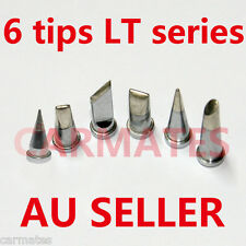 6PCs Solder Soldering Station Iron TIPs LT LeadFree FOR Weller WSD81 WSP80 WSD80