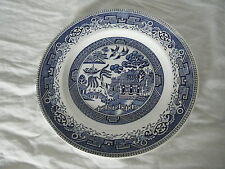 C4 Pottery Washington Old Willow Plate Medium 25cm 7B2C
