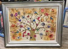 Kerry Darlington - The Tree Of Life - Oriental Gold (Framed)  In Stock
