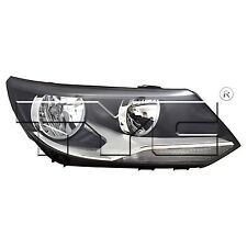 TYC Right Side Halogen Headlight Assembly For VW Tiguan 2012-20016 Models