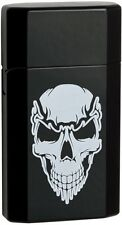 Genuine 2016 Ronson JetLite Jet Lite Skull Black Finish Tourch Lighter 43533 NEW