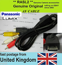 Original Panasonic Lumix av cable DMC-FZ38 FT1 FT2 chose FZ45 gf2 gh2 FZ35 ZS3