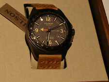 FILSON Journeyman GMT 44mm Men's WATCH Horween LEATHER Strap NWTIB - Shinola NR