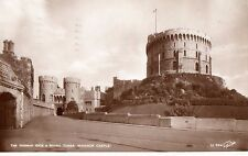 Berkshire - Windsor Castle, The Norman Gate & Round Tower -Postcard Franked 1939