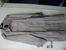 'BETTY JACKSON.BLACK' D/B BEIGE COAT- SIZE 18