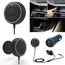 NFC Blutooth Hands-free Car Kit Audio Receiver Stereo Music Aux Dual USB Charger