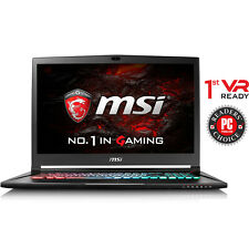 "MSI GS73VR Stealth Pro-025 17.3"" Laptop i7-6700HQ/16GB DDR4/GTX1060/256GB+1TB"