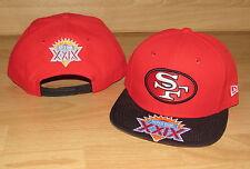 San Francisco 49ers NE 9FIFTY Super Bowl XXIX Snapback Mens Hat Cap - SB visor