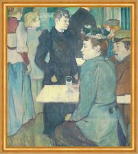 A corner of the Moulin de la galette toulouse-lautrec danse CAFE B a2 02233
