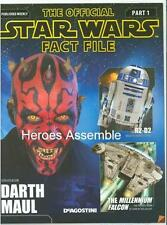 OFFICIAL STAR WARS FACT FILES #1 FREE GIFT GALAXY CHART DEAGOSTINI 2014 SERIES