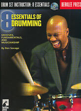 Ron Savage: Essentials of Drum Ming-riproduce, Fundamentals and Musicianship + CD