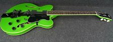 HOFNER HCT-VTH-MGR Verythin Semi hollow LIMITED EDITION Green/Black Strip BIGSBY