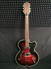 MUSIMA 1655 H RARE Vintage Semi-hollow Electric Guitar GDR DDR Germany USSR