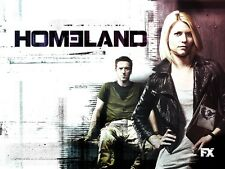 POSTER HOMELAND CACCIA ALLA SPIA CLAIRE DANES CARRIE MATHISON SERIE TV SERIES #2
