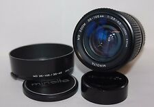 Minolta MD 35-105mm f/3.5-4.5  Macro Zoom lens X300 X500 X700 etc Metal Body