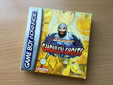 Nintendo Gameboy Advance GBA Ghouls 'n Ghosts Game