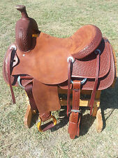 "16"" Spur Saddlery Ranch Cutting Saddle - Made in Texas - Cutter"