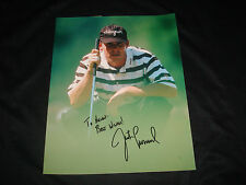 Justin Leonard PGA Golf Texas Signed 8X10 Photo Authentic Autograph JB9