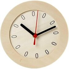 Plain Clock Face & Clock Works Kit - Wooden Paint Decorate Watch - Craft Gift