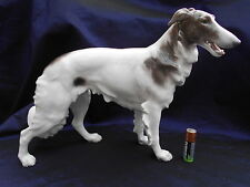 Antique Bing & Grondahl large Borzoi Dog By Lauritz Jensen 1915-1930 very RARE