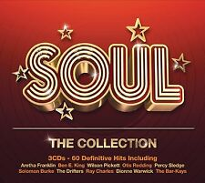 SOUL-THE COLLECTION 3 CD NEU