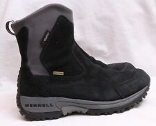 Merrell Tundra Thinsilate Black Pull On Waterproof Ankle Boot Women's U.S. 6.5