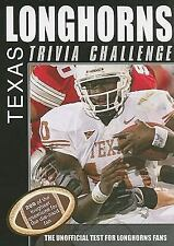 Trivia Challenge - Texas Longhorns (2008) - Used - Trade Paper (Paperback)