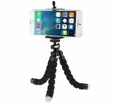 Universal Mini Flexible Stand Tripod Mount + Free Holder For Smart Phone iPhone{