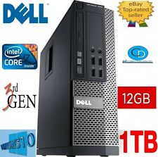 DELL Optiplex i7 7010 SFF. QUAD CORE 3.40 GHz 3770.12gb, 1tb HD. DVD + RW. WIN 10 Pro.