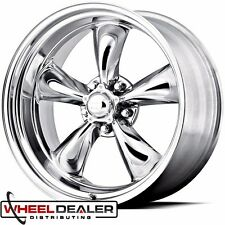 "17x8""-17x9.5"" AMERICAN RACING TORQUE THRUST WHEELS CLASSIC GM 5x4.75"" FREE LUG"