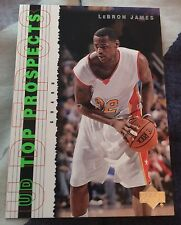 2003-04 Upper Deck UD Top Prospects Lebron James Cavaliers Rookie Card Promo