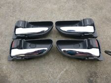Subaru Impreza WRX GDA GDB STi Chrome Interior Door Handle Set