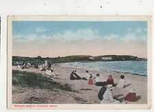 Normal Beach Hyannis Mass. USA 1922 Postcard 936a