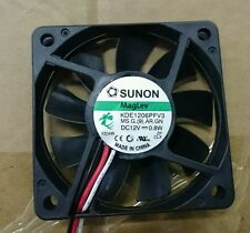 LOT OF 200 SUNON MAGLEV KDE1206PFV3 FAN DC 12V