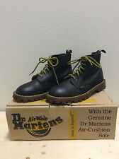 Woman's Vintage 90's Dr. Martens Black Waxy Classic Boots AirWair U.S Size 6