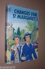 CHANGES FOR ST. MARGARETS. HELEN HUMPHRIES. HB in DJ. SCHOOLGIRLS STORY