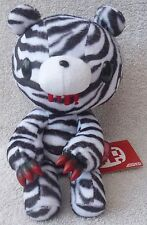 Official Chax GP TAITO Gloomy Bear Sitting Zebra Soft Plush Toy Japan Kawaii 9""