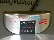David Whitlam Gauge Design Mallet M1 SS303 Putter w/Head Cover - USED