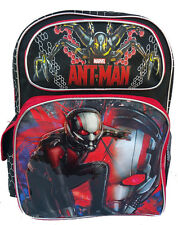 "Marvel Ant Man Boys 16"" School Large Backpack Bag New"