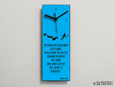 Peter Pan - You know that place between sleep & awake ... - Wall Clock