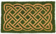 "DOOR MATS - CELTIC KNOT DOORMAT - 18"" X 30"" - COIR DOOR MAT - IRISH WELCOME MAT"